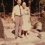 Edward Sr and Anna, 1960 on their 50th Anniv