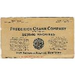 Edward Sr, Business Card at Frederick Osann Company